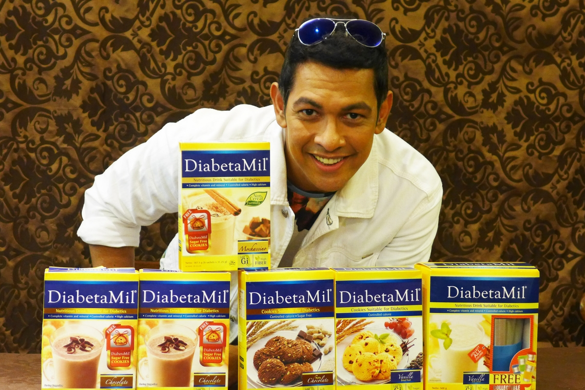 Gary Valenciano for Diabetamil