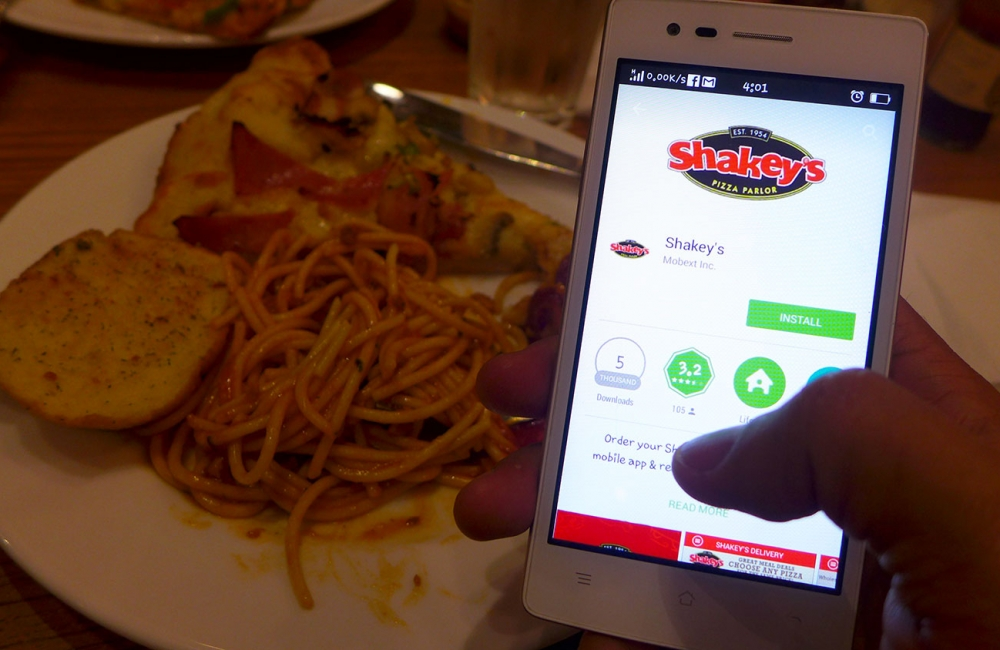Anytime is Shakey's Time with the new Shakey's App