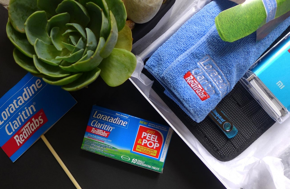 Have an allergy-free active lifestyle with Claritin Reditabs