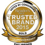 Readers Digest to honor the Philippine's Most Trusted Brands
