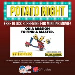Watch Minions FOR FREE on GMovies' Potato Night