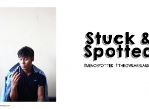Stuck & Spotted (Memo Owl Polo)